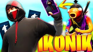 SUBSCRIBER I CHALLENGE for THE SKIN IKONIK in FORTNITE AND THIS WAS WHAT HAPPENed!.. 🔥😱