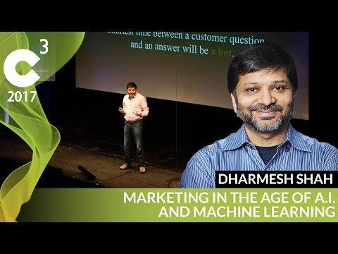 Machine Learning in Marketing | C3 2017 | Dharmesh Shah