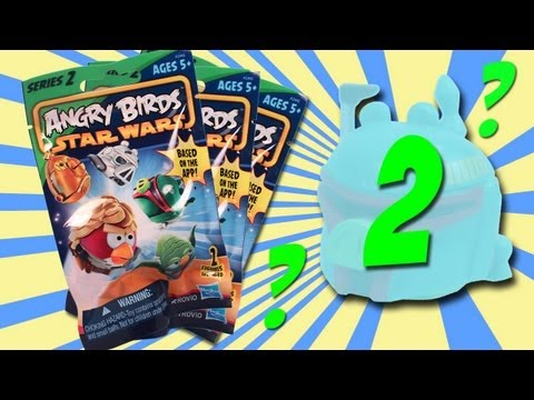 Star Wars Angry Birds Series 2 Blind Bag Opening