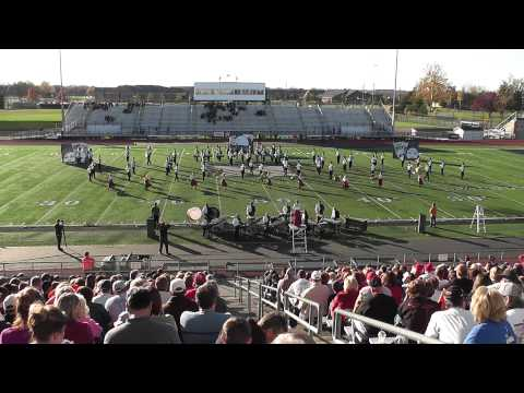 Columbus East High School Marching Band at Finals 2011