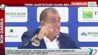 (0.11 MB) Fatih Terim, Arda Turan'a Meydan Okudu. Mp3