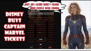Captain Marvel Empty Theaters - What You Don't Know