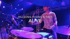 Alive [+ Instrumental] - (Live) Drum Cam ⚡️