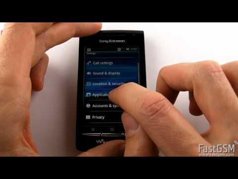 How To Unlock Sony Ericsson W8 Walkman (E16) by USB