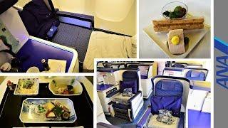 ANA Business Class 777 Tokyo Narita to New York JFK