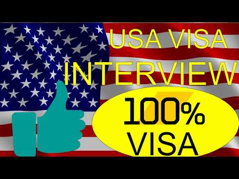 US Visa Interview: 2018 How to answer questions at the U.S. Consulate in urdu/hindi by premier visa