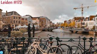 4K - Leiden City, architechture, beauty, summer - the Netherlands - 2021 #173
