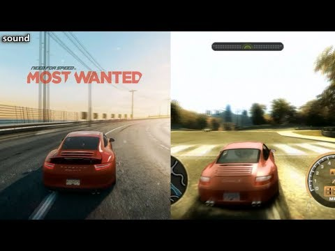 nfs most wanted 2005 vs nfs most wanted 2012 doovi. Black Bedroom Furniture Sets. Home Design Ideas