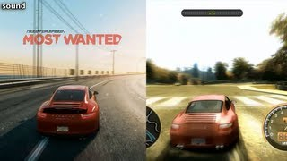 NFS: Most Wanted (2012) vs NFS: Most Wanted (2005) - Comparison [1080p]