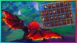 "Before You Buy ""MOLTEN VALKYRIE WINGS"" - All Skin Combinations Showcased in Fortnite (148+ Skins)"