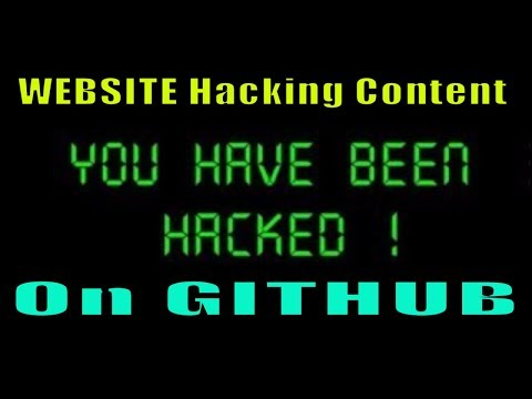 WEBSITE HACKING ALL CONTENT ON GITHUB ,  KALI LINUX TUTORIALS , Top Security Books