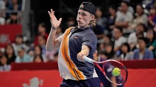 Hot Shot: Shapovalov Pumps Up The Tokyo Crowd Against Chung 2018