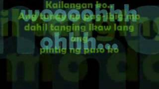 MULI - BUGOY DRILON with LYRICS