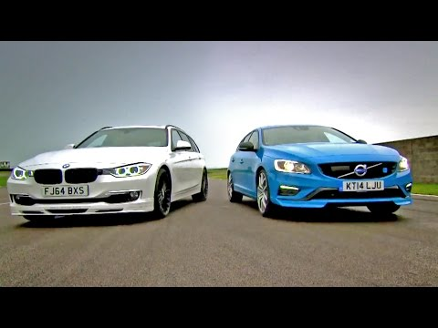 Alpina D3 Biturbo Touring vs Volvo V60 Polestar - Fifth Gear