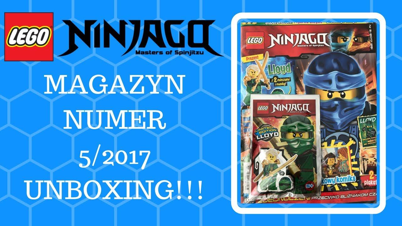 Magazyn Lego Ninjago 52017 Unboxingrecenzjaprezentacja Youtube