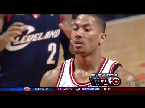 Derrick Rose Full Highlights 2010 Playoffs R1G3 vs Cavaliers - 31 Pts, 7 Assists