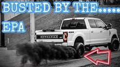 EPA (WASHINGTON D.C.) CONTACTED ME ABOUT MY TRUCK AND YOUTUBE CHANNEL!!!