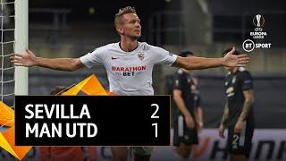 Sevilla vs Man Utd (2-1) | UEFA Europa League highlights