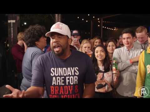 Super Bowl Rap Battle : Patriots Vs Falcons