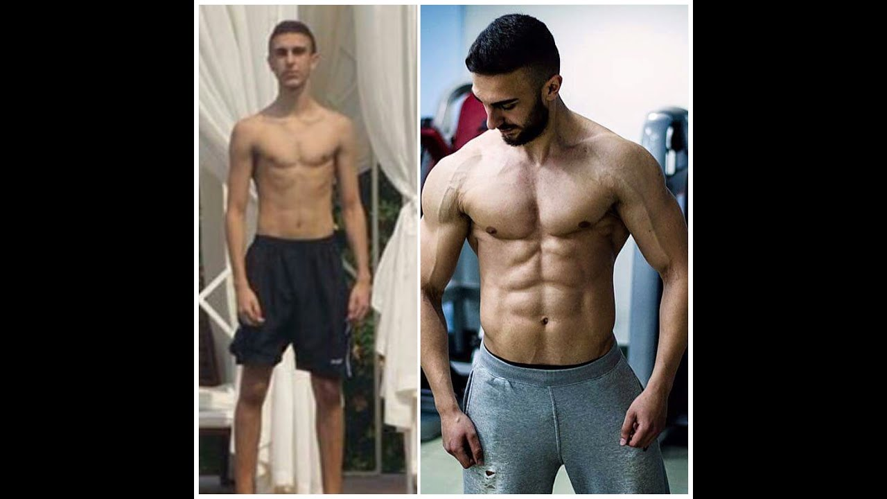 how to go from skinny to muscular