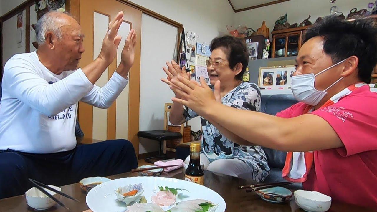 【解体】自己記録の特大ヒラメをとく父が捌く!!