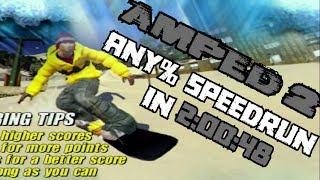 Amped 2: Rank 1 (Any%) Speedrun in 2:00:48 [WORLD RECORD]