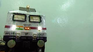 WAP7 LOCOMOTIVE MODEL || INDIAN RAILWAYS