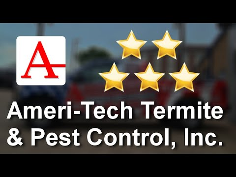Ameri-Tech Termite & Pest Control - 5-Star Review by Sharon C.