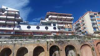 Acque nere sul viale Marinai d'Italia