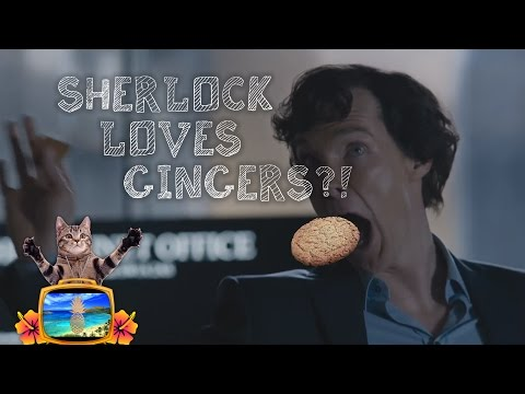 SHERLOCK LOVES GINGERS?! | Sherlock's Gingernuts Recipe [S04]