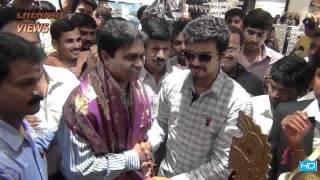 hi style was inaugurated by ilaya thalapathi vijay in thirumangalam chennai
