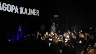 Sagopa Kajmer  Kahramanmaraş  konseri Sürahi -İskeletler diyarı