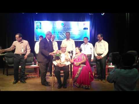 Retirement felicitation by Managing Director