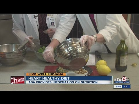 Tips on eating a heart-healthy diet