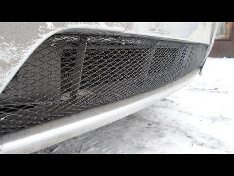 защитная сетка в бампер