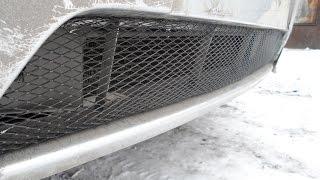 видео Сетка на решетку радиатора