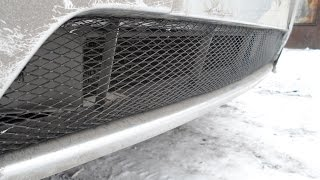 видео Cетка на бампер ВАЗ 2110