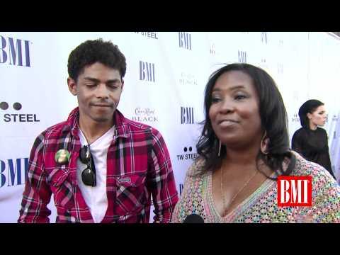 Brandon Howard & Mary Brown Interviewed at BMI Urban Awards 2011