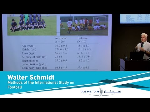 Methods of the International Study on Football at Altitude 3600m by Walter Schmidt-25March2013
