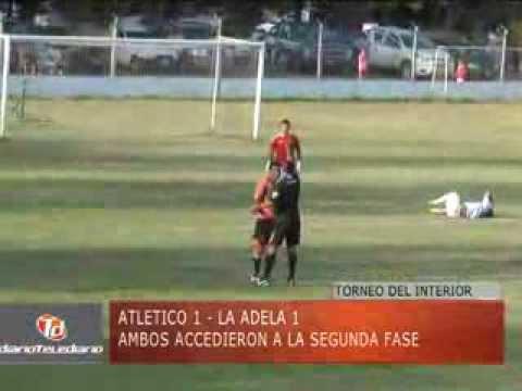 TELEDIARIO 05/03/14 - ATLETICO VS LA ADELA - TORNEO DEL INTERIOR