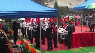 閩僑中學儀仗隊 於 佛教中華康山學校70週年校慶表演