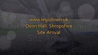 Shropshire - Oxon Hall Touring Park Site Arrival