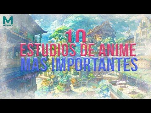 Los 10 Estudios de Anime mas Importantes