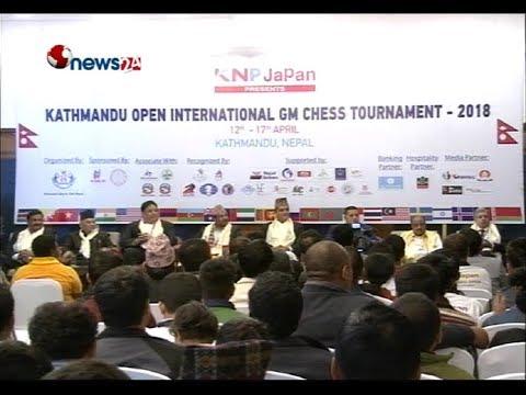 KATHMANDU OPEN INTERNATIONAL GM CHESS TOURNAMENT - 2018 | NEWS24 TV