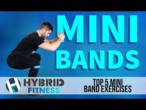 Top 5 Mini Band Exercises | Glute Building Secret