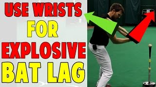 Hands Forward Wrists Back | Bat Lag Baseball Hitting Drill (Pro Speed Baseball)