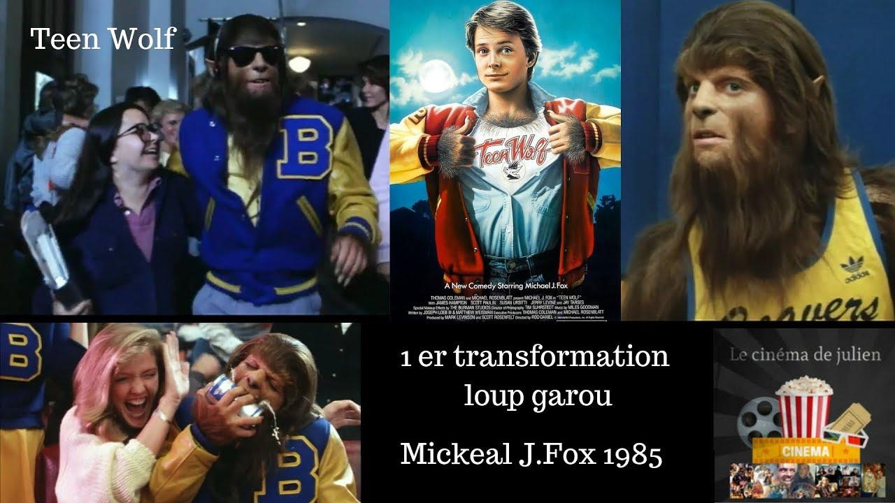 Download Teen wolf 1985 1er transformation loup-garou publique