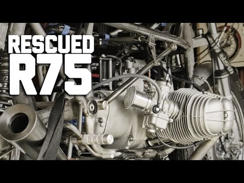 BMW R75 Vintage Track Racer Saved From the Parts Bin! // Revival Daily 93