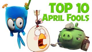 Angry Birds - Top 10 Fools Day Mashup Compilation