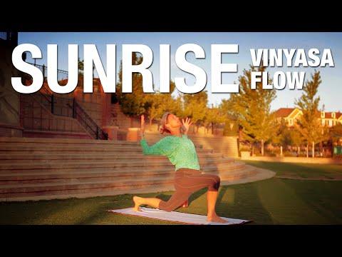 Sunrise Vinyasa Flow Yoga Class - Five Parks Yoga